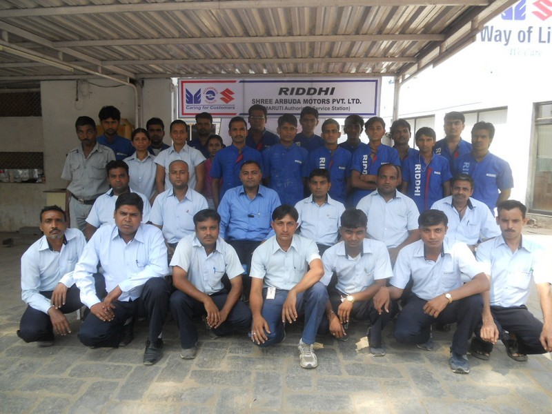 Riddhi - Maruti Authorised Service Station : Workers