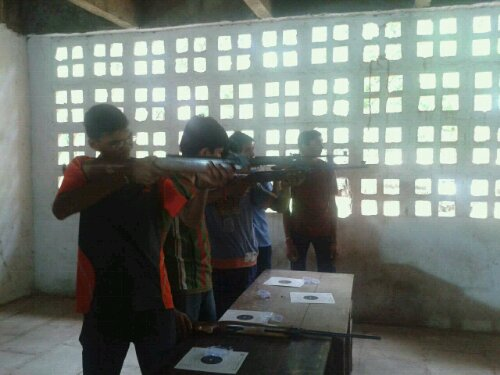 Air Rifle Shooting Competition