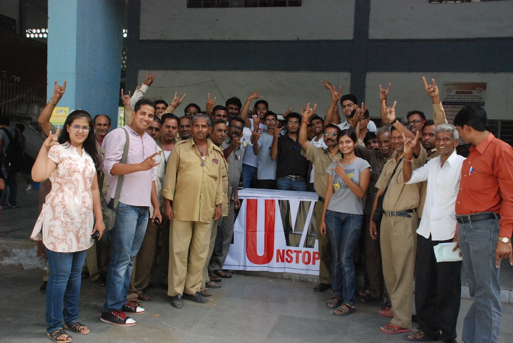 Yuva Unstoppable:- Buttermilk Distribution Event – June 2012