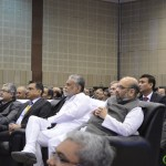 Amit Shah and Purshottam Rupala at 6th Vibrant Gujarat Global Summit 2013- Mahatma Mandir, Gandhinagar