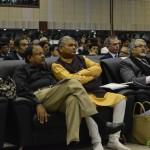 Shri Jaynarayn Vyas and Shri Fakirbhai Vaghela attends 6th Vibrant Gujarat Global Summit 2013- Mahatma Mandir, Gandhinagar