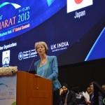 Patricia Hewitt at Vibrant Gujarat Global Summit Inauguration 2013- Mahatma Mandir, Gandhinagar