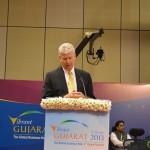 Stewart Beck at Vibrant Gujarat Global Summit Inauguration 2013- Mahatma Mandir, Gandhinagar