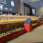 Industrialists and Partner Countries Delegates at 6th Vibrant Gujarat Global Summit 2013- Mahatma Mandir, Gandhinagar