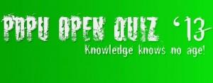 PDPU Open Quiz 2013