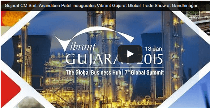 Gujarat CM Smt. Anandiben Patel to inaugurate Vibrant Gujarat Global Trade Show at Gandhinagar